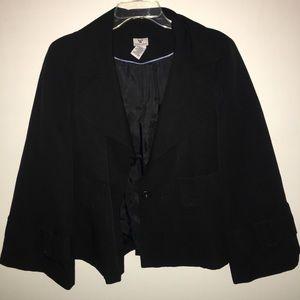 Worthington Polyester Black blazer